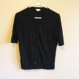 Merona Sweater Black sz M